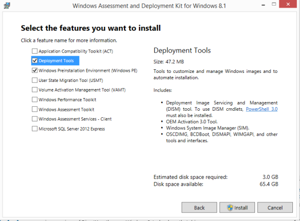 Windows 8.1 custome image ID292