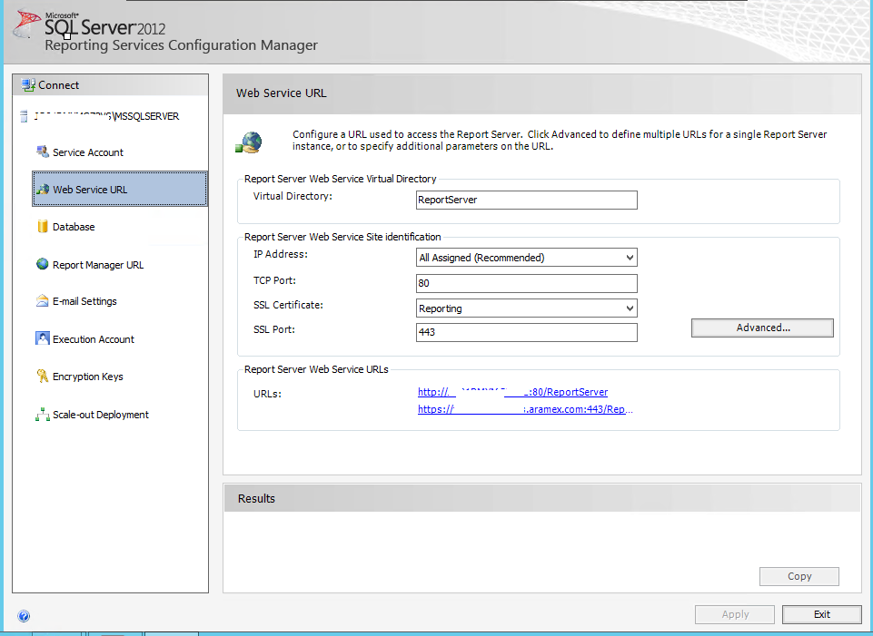 Configuration Manager 2012 R2 Reporting Services And Ssl Trusting