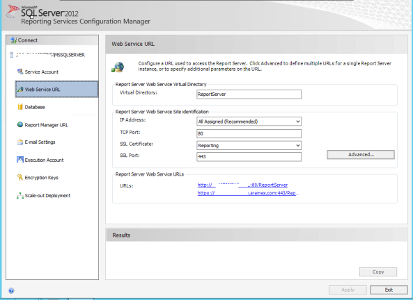 Configuration Manager 2012 R2 Reporting Services and SSL 1
