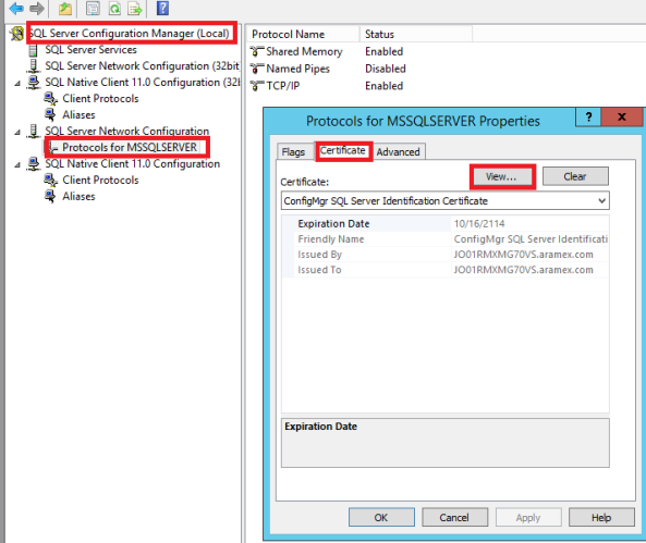 Configuration Manager 2012 R2 Reporting Services and SSL 3