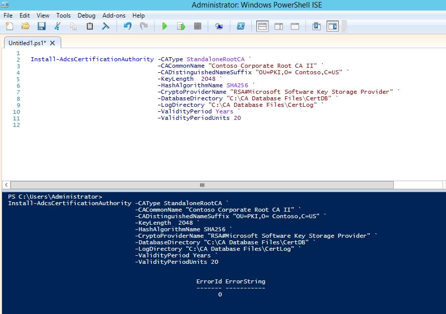 Deploy Offline Root Ca In Windows 2012 R2 Sha 2 Ready Ammar