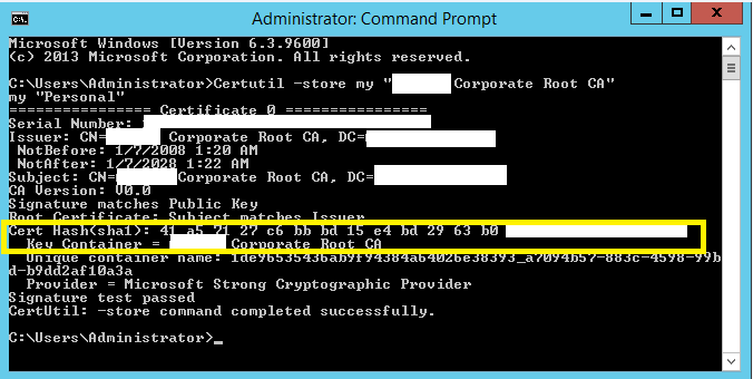 Sha 2 support migrate your ca from csp to ksp ammar hasayen blog sha 2 support migrate your ca from csp to ksp 3 yadclub Gallery