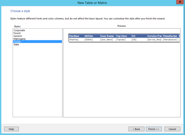 Config Manager 2012 Build and Customize SQL Reports 11