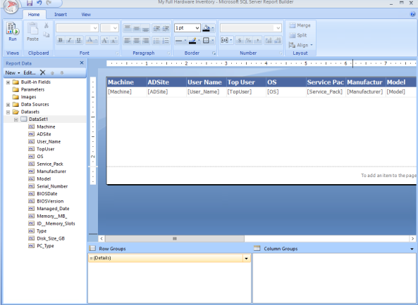 Config Manager 2012 Build and Customize SQL Reports 27