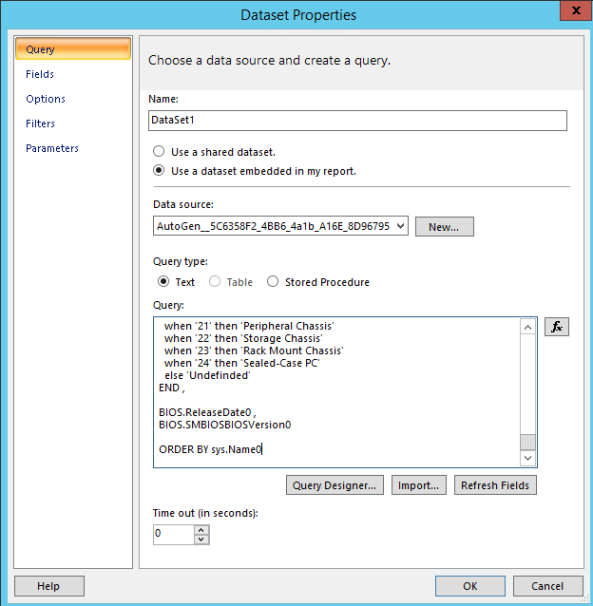 Config Manager 2012 Build and Customize SQL Reports 4