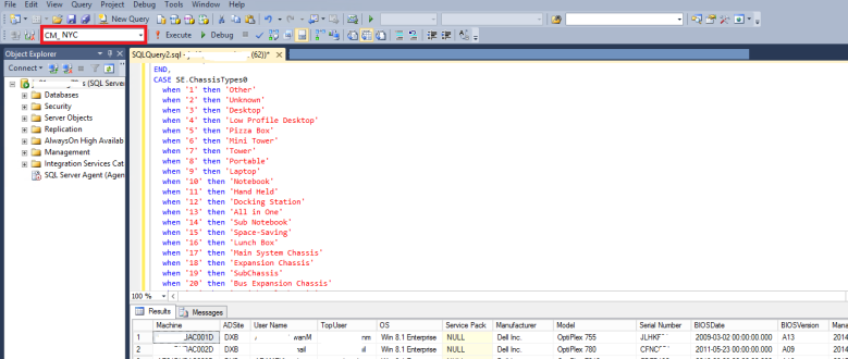 SCCM 2012 SQL Report 2