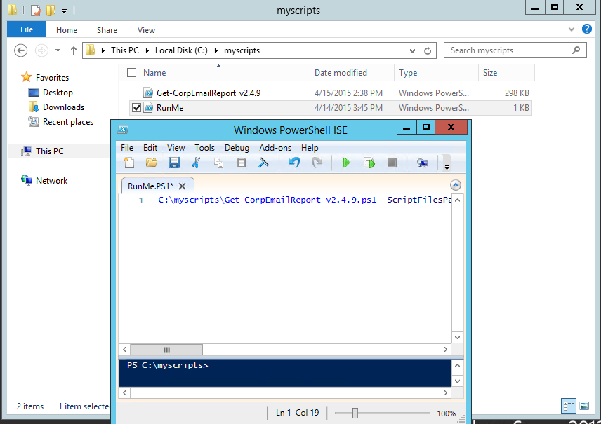 Weekend Scripter: Use the Windows Task Scheduler to Run a Windows PowerShell Script