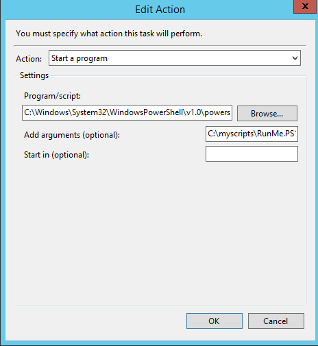 How to run PowerShell Scripts efficiently from Task Scheduler16