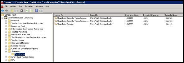 Sharepoint STS Token error 232523